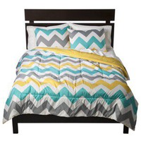 Room Essentials® Chevron Comforter - White
