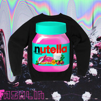 UNISEX Hot Pink Nutella Neon Fluorescent Nu Goth by fASHLINdotcom