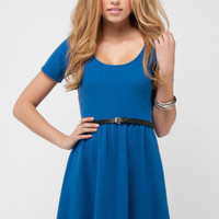 Back Again Dress in Royal :: tobi