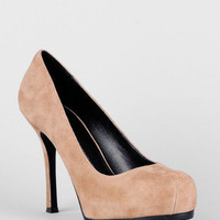 Dolce Vita DV by Dolce Vita Coby Suede Platform Pumps in Desert :: tobi