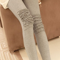 Confortable Stylish Women Cotton Leggings Multicolor from 1Point99.com