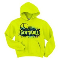 Softball Safety Green Hood