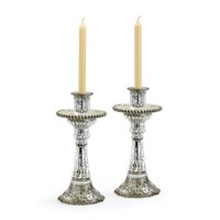 Fountain Candle Holders - Set of 2