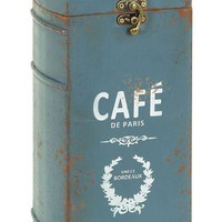 Wine Bottle Case With Paris Cafe Theme