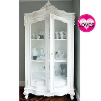 Provencal Wire Showcase|Armoires &amp; Wardrobes|Storage|French Bedroom Company