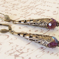 Medieval Inspired Earrings  BEDAZZLED  by whiteravendesignsau