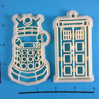 Dr Who Cookie Cutter Set