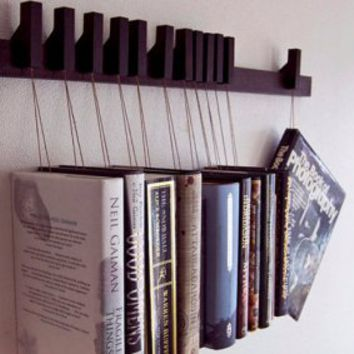 Wenge Wooden Book Rack