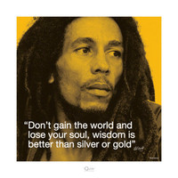 Bob Marley: Wisdom Posters at AllPosters.com