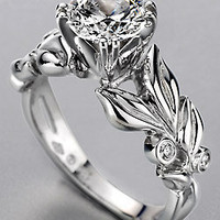 Mark Schneider Design Flora - 19555 Engagement Ring