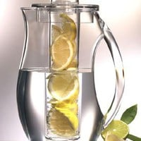 Prodyne Fi3 Acrylic Fruit Infusion Pitcher 2.9qt Removeable