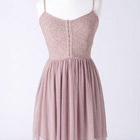 dELiAs > Ballerina Mesh Hook And Eye Dress