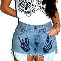 Skulls top  from New Spirit Boutique