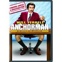 Amazon.com: Anchorman: The Legend of Ron Burgundy (Unrated Widescreen Edition): Will Ferrell, Vince Vaughn: Movies & TV