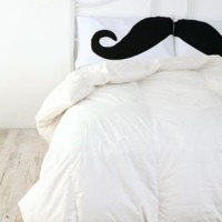 Mustache Pillowcase Set