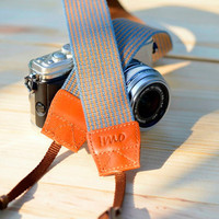 The Yellow River Camera Strap by iMoShop on Etsy