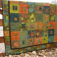 Pieced Quilt Patchwork Squares
