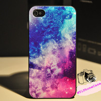 Magic Stary night iPhone 4 Case, shining star iPhone Case 4 4s,iPhone 4 4s case for boy, bling iPhone 4 4s Case for Christmas