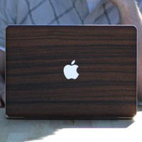 Parudao Wood MacBook Teksure Skin by theluckylabs on Etsy