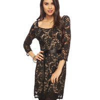 Dramatic Lace Dress 