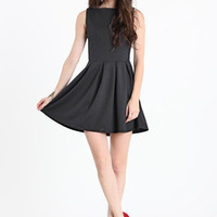 Revolution Pleated Skater Dress in Black - $38.00 : ThreadSence.com, Your Spot For Indie Clothing  Indie Urban Culture