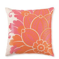 "D.L. Rhein Waikiki Linen Pillow 20"" x 20"" - Orange"