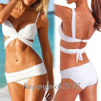 Womens Wonderful Sexy Bikini Swimwear Swimming Suit Push Up