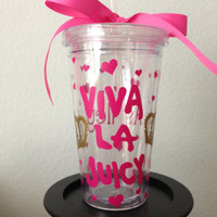Juicy Couture Viva La Juicy Inspired Tumbler 16oz