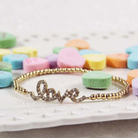 Loves Lost Bracelet, Women's Sweet Bohemian Jewelry