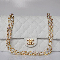Quilted Chanel Handbag 3 Colors from Patsy's Pink Sparkle