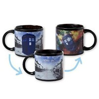Amazon.com: Dr Who Disappearing Tardis mug: Kitchen & Dining