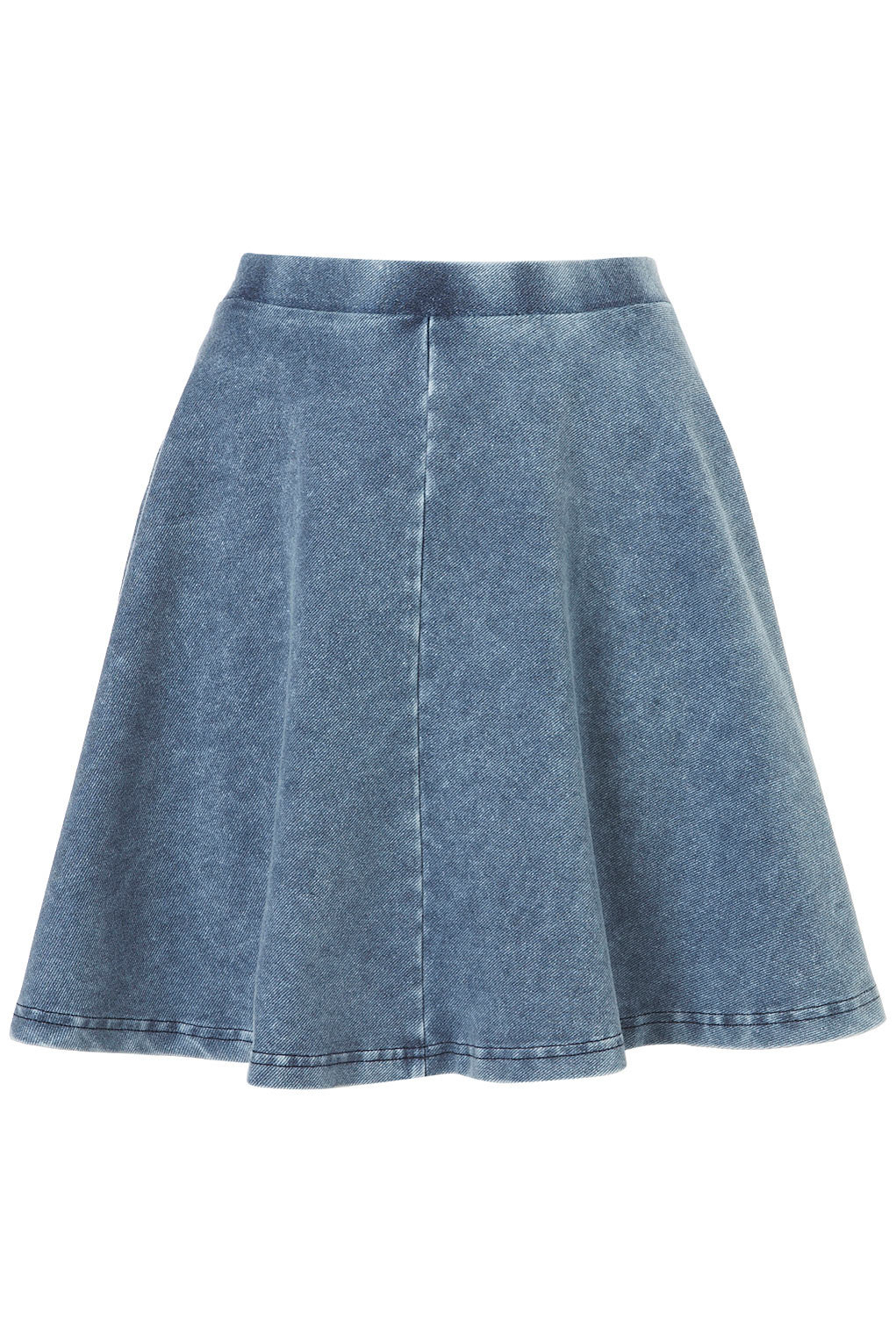 denim skater skirt skirts clothing from topshop