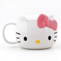 Hello Kitty Die Cut Mug