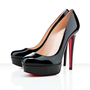 Christian Louboutin Bianca 140mm Patent Black Leather [2011110806] - $172.00 : Christian Louboutin Shoes Sale, Enjoy 77% Off On Designer Outlet