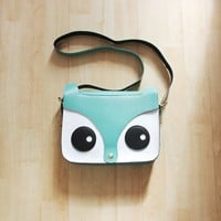 GREEN FOX FACE BAG