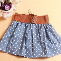 Mini Hearts Skirt