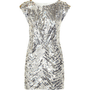 Virginie Castaway Audrey Sequined Satin Mini Dress - Polyvore