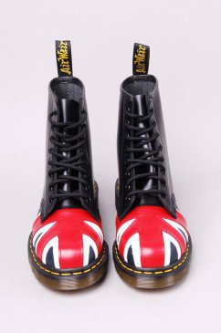 $120.00 Dr. Martens Union Jack | Leather Boots | shopAKIRA.com