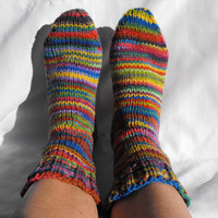 Rainbow Custom Size Womens Sock Soc.. on Luulla