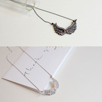 Angel Wings Pendant Fashion Necklace Korean Celebrity Style DA_N002