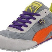 Amazon.com: PUMA Women's Maya Noreaster Fashion Sneaker,Limestone Grey/Golden Poppy,8 B US: Shoes