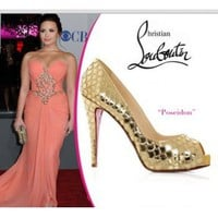 Demi Lovato in Christian Louboutin