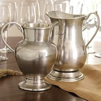 Antique-Silver Pitchers