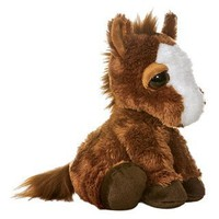 Aurora Plush 10 inches  Dreamy Eyes Pony  inches Prancer inches
