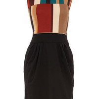 Black pattern dress - Clothing - Dorothy Perkins