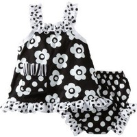 Amazon.com: Mud Pie Baby-girls Newborn Tres Jolie Swing Top And Bloomer Set: Clothing