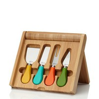 Picnic Time Carnaval Bamboo Cheese Board/Tool Set
