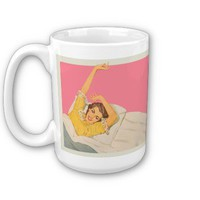 Too pretty to work. coffee mugs from Zazzle.com