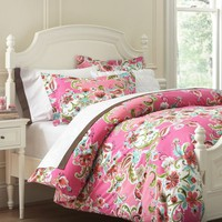 Painted Petals Duvet Cover &amp; Sham | PBteen