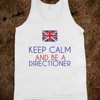 KEEP CALM AND BE A DIRECTIONER - glamfoxx.com